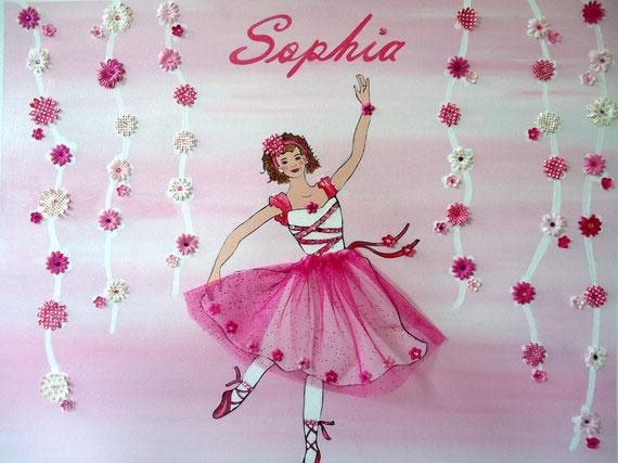 Horizonatal Ballerina