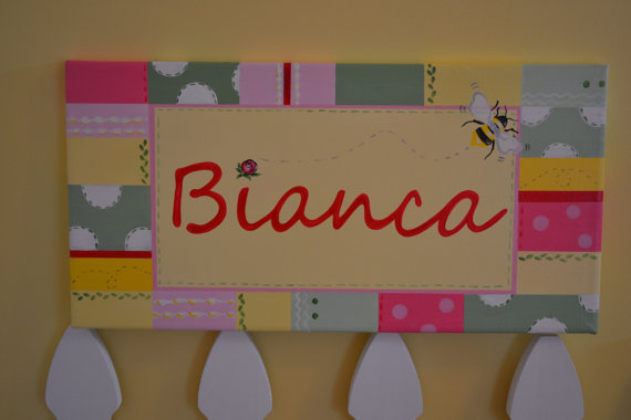 Bianca Name Canvas