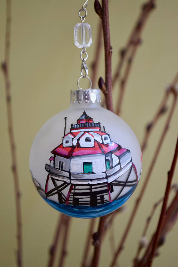 Thomas Point Light House Ornament-Thomas Point Light House Ornament Christmas Personalized
