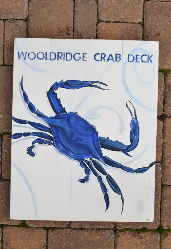 18x22 inch Distressed Hand Painted Chesapeake Blue Crab on Pine Wood for Outdoor/Indoor Coastal Living Decor-Chesapeake Blue Crab on Pine Wood,  Annapolis Maryland Blue Crab, Annapolis Pride,  Shore Living, Coastal Living, Personalized Rustic Wood Crab Art, Wedding Gift, House Warming Gift