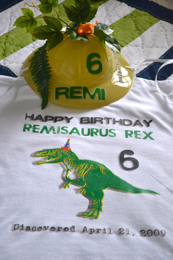Paleontologist Pith Party Birthday Helmet & Shirt Set-Dinosaur Party, Dinosaur Party Hat, Paleontologist Helmet, Dinosaur Egg Hunt, Dinosaur Birthday Hat, Personalized Party Dinosaur Shirt, Personalized Party Dinosaur Helmet