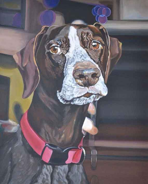24x36 Large Beautiful Realistic Custom Pet Portrait
